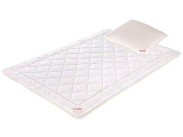 Faserbettdecke und Kopfkissen Cool Comfort Bio Viskose mit Paraffin-Mikrokapseln und Polyester (Extra leicht)