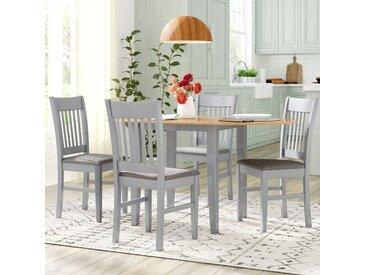 Essgruppe Cooney mit ausziehbarem Tisch und 4 Stühlen