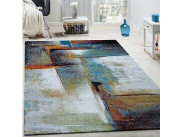 Teppich Salgado in Grau/Blau