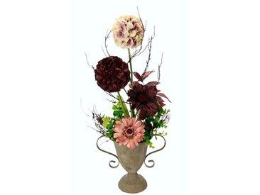 Kunstblume Allium und Gerbera in Vase