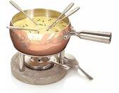 Fondue-Set Life aus Kupfer