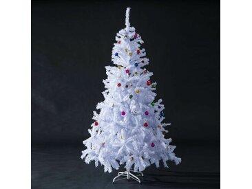 Künstlicher Weihnachtsbaum 180 cm Weiß mit Ständer
