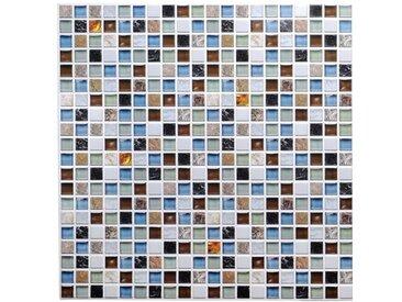 98 cm x 50 cm Mosaikfliesen-Set Aurora-Leigh aus Kunststoff