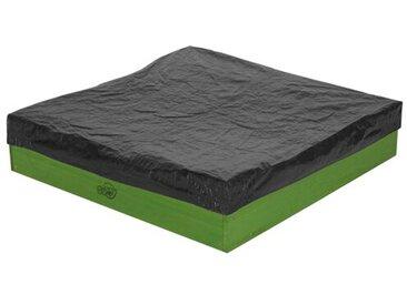 90 cm quadratischer Sandkasten Daisy mit Schutzbezug