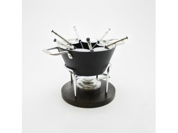 Fondue-Set aus Aluminium