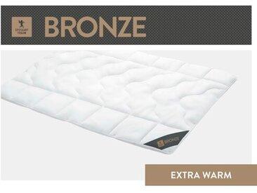 Faserbettdecke Bronze 100 % Polyester (Extra Warm), knöpfbar