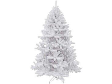 Künstlicher Weihnachtsbaum Weißglitzer mit Ständer