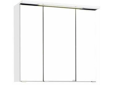 70 cm x 64 cm Spiegelschrank Dessie mit LED Beleuchtung
