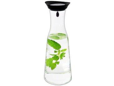 1 L Glasflasche mit Silikondeckel