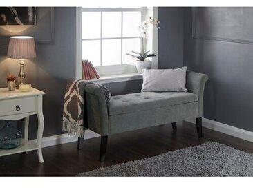 Gepolsterte Schlafzimmerbank Andesine mit Stauraum