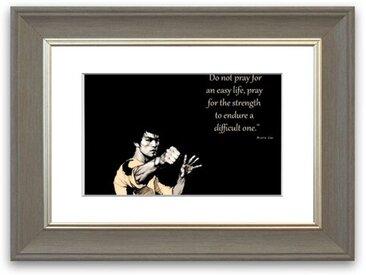 Gerahmtes Poster Bruce Lee Strength