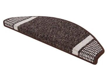 Stufenmatten-Set Runner in Braun
