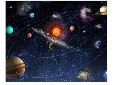 Sonnensystem Fototapete 240 cm x 300 cm in 6 Teilen
