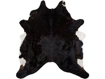 Rinderfell in Schwarz