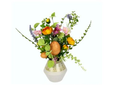 Kunstblume in Vase