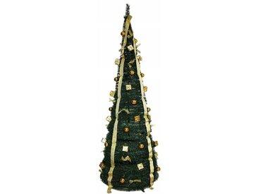 Künstlicher Weihnachtsbaum 190 cm Grün mit Ständer