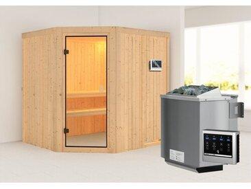 Sauna Bodo mit Ofen für 2 Personen
