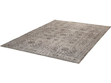Flachgewebe-Außenteppich Colerane in Grau