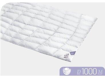 Vier-Jahreszeiten 100% Eiderdaunen Bettdecke D1000