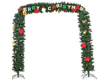 Künstlicher Weihnachtsbaum 270 cm Grün mit Ständer