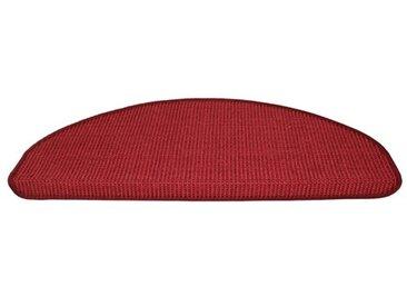 Stufenmatte in Rot