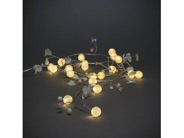 LED-Lichterkette 20-flammig in Weiß
