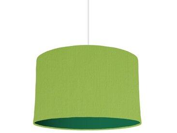 30 cm x 20 cm H Trommelförmiger Lampenschirm aus Baumwolle