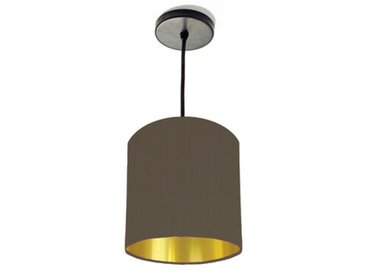 15 cm x 15 cm H Trommelförmiger Lampenschirm aus Baumwolle
