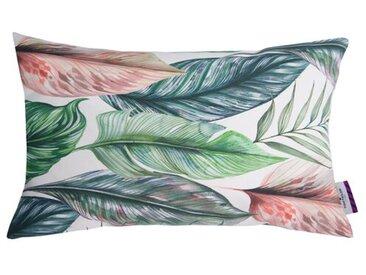 Kissenhülle T-Coloured Leaves aus Baumwolle