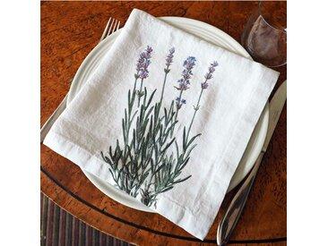 Serviette Bellavia Lavender Floral Print (Set of 4)
