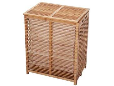 Wäschetruhe aus Bambus
