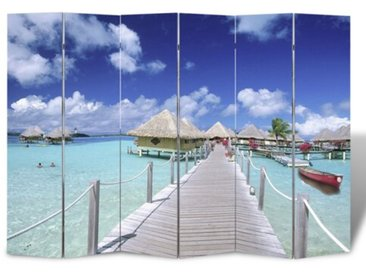 6-tlg. Raumteiler Strand, 180 x 240 cm