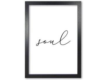 Gerahmtes Poster Soul