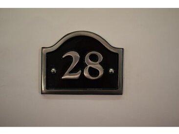 30,5 cm Wandbefestigte Hausnummer Jaclynn