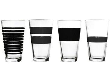 4-tlg. Trinkgläser-Set Longdrink