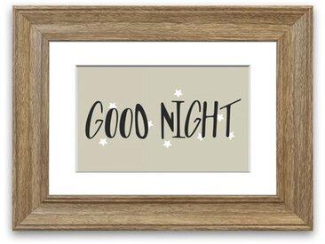 Gerahmtes Poster Good Night