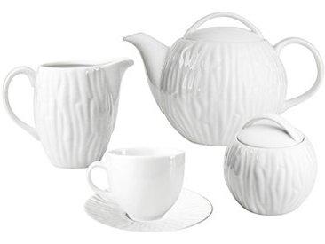 Teeservice für 6 Personen Hinze aus Porzellan
