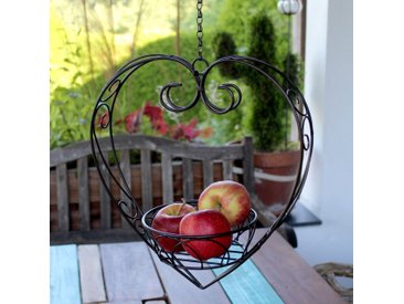 Blumenampel Wooster aus Metall