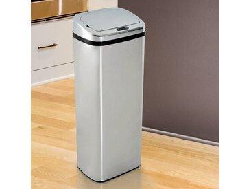 50 L Müll- & Abfalleimer mit Bewegungssensor Wetmore aus Edelstahl
