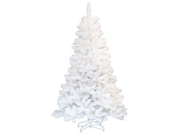 Nordischer Montreal Weißer Künstlicher Weihnachtsbaum mit Ständer