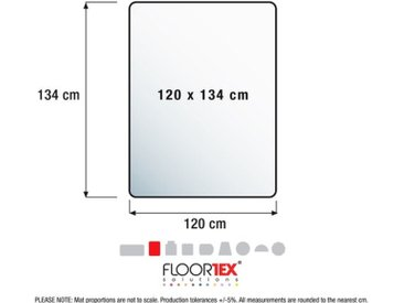 Cleartex Ultimat Polykarbonat für Hartböden Stuhlmatte