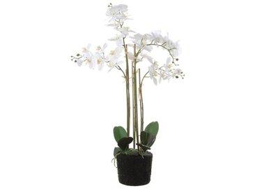 Kunstblume Orchideen im Topf