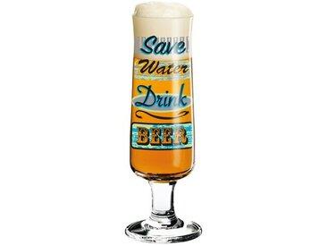 300 ml Bierglas New Beer mit Bierdeckeln