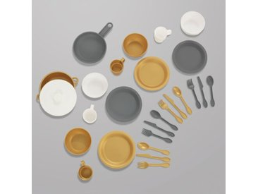 Küchenset Metallic-Look