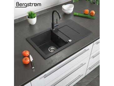 1 Becken Einbau Küchenspüle Zhenvu