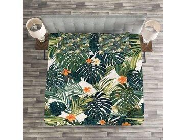 Tagesdecken-Set Mcallier Hawaii mit passender Kissenhülle