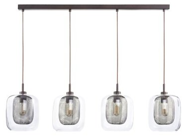 Lineare LED-Pendelleuchte 4-flammig Ruth