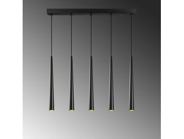 Lineare LED-Pendelleuchte 5-flammig Gallaway
