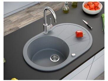 1 Becken Einbau Küchenspüle Christabelle