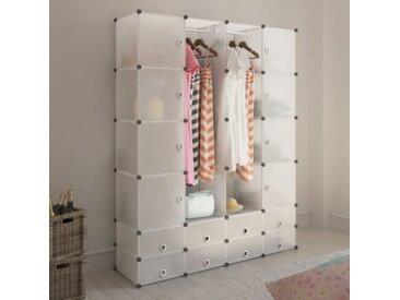 146 cm Kleiderorganisationsystem